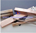 tungsten copper parts picture