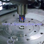 manufacturing process of tungsten copper picture