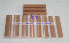 copper tungsten block picture