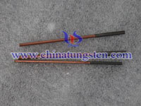 tungsten copper thread tapping electrode