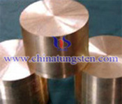 tungsten copper alloy picture