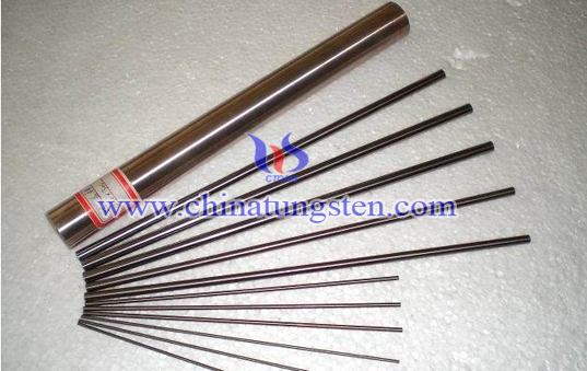 tungsten copper welding electrode