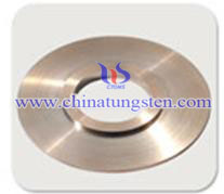 copper tungsten PCD disk electrode picture
