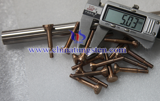 tungsten copper alloy electrode picture