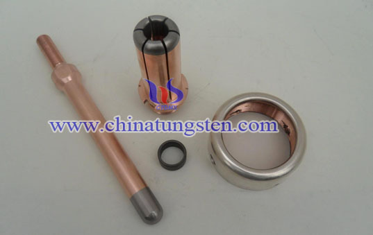 tungsten copper combination contact