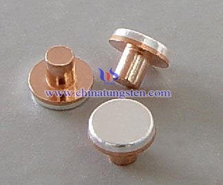 tungsten copper composite rivet contacts