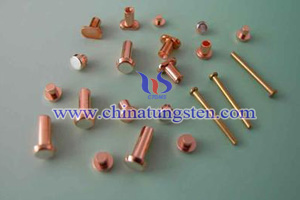 tungsten copper contact picture