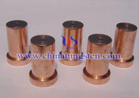 tungsten copper contact tip picture