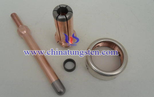 tungsten copper discrete contacts