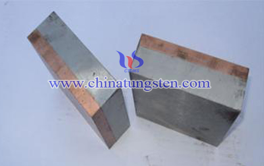 tungsten copper handle electrode