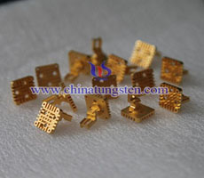 tungsten copper heatsink picture