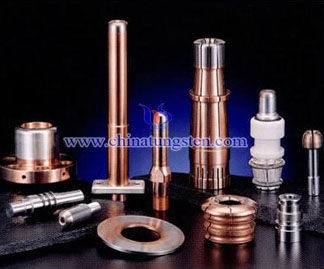 tungsten copper high voltage arc contacts