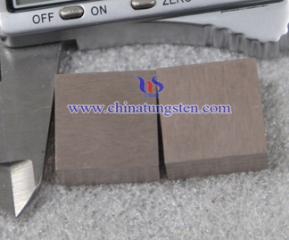 tungsten copper hot pressing sintered picture