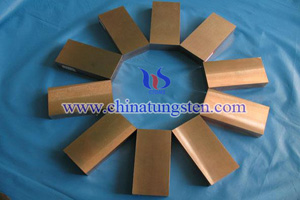 tungsten copper military block picture