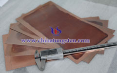 copper tungsten plate picture