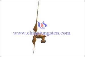 tungsten copper tail vane photo