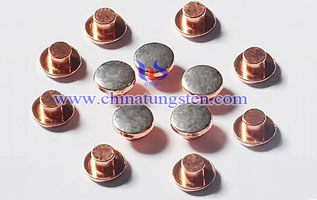 tungsten copper welding button contact