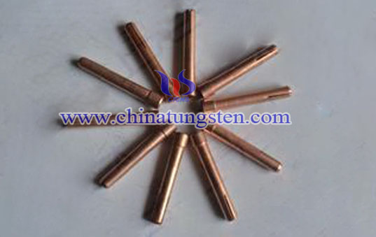 tungsten copper welding tips
