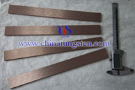 tungsten copper bar photo